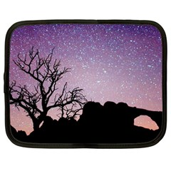 Arches National Park Night Netbook Case (large)