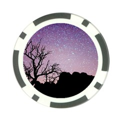 Arches National Park Night Poker Chip Card Guard (10 Pack)
