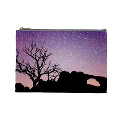 Arches National Park Night Cosmetic Bag (large)