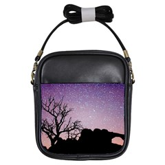 Arches National Park Night Girls Sling Bags