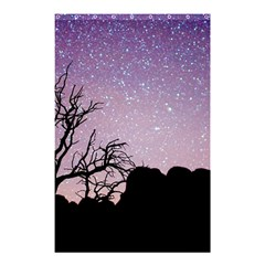 Arches National Park Night Shower Curtain 48  X 72  (small)