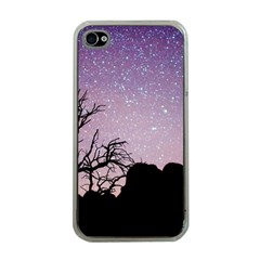 Arches National Park Night Apple Iphone 4 Case (clear)