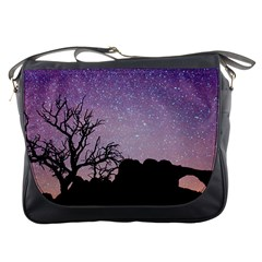 Arches National Park Night Messenger Bags