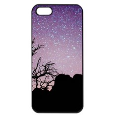 Arches National Park Night Apple Iphone 5 Seamless Case (black)