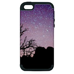 Arches National Park Night Apple Iphone 5 Hardshell Case (pc+silicone)