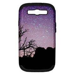 Arches National Park Night Samsung Galaxy S Iii Hardshell Case (pc+silicone)