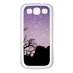 Arches National Park Night Samsung Galaxy S3 Back Case (white)