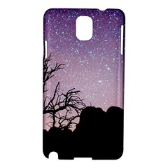 Arches National Park Night Samsung Galaxy Note 3 N9005 Hardshell Case