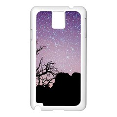 Arches National Park Night Samsung Galaxy Note 3 N9005 Case (white)