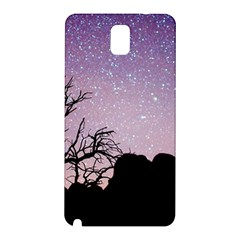 Arches National Park Night Samsung Galaxy Note 3 N9005 Hardshell Back Case