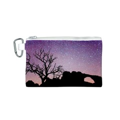 Arches National Park Night Canvas Cosmetic Bag (s)