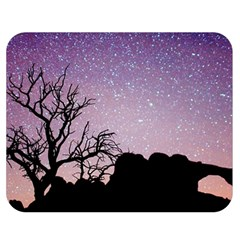 Arches National Park Night Double Sided Flano Blanket (medium)