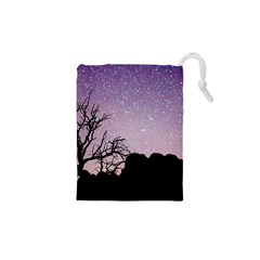 Arches National Park Night Drawstring Pouches (xs)