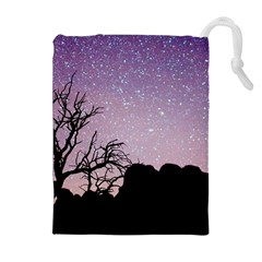 Arches National Park Night Drawstring Pouches (extra Large)