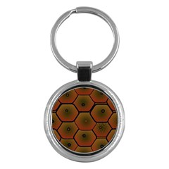 Art Psychedelic Pattern Key Chains (Round)