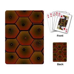 Art Psychedelic Pattern Playing Card