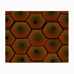 Art Psychedelic Pattern Small Glasses Cloth (2-Side)