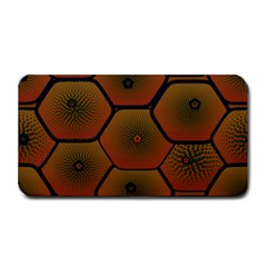Art Psychedelic Pattern Medium Bar Mats