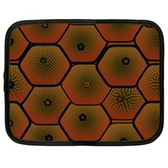Art Psychedelic Pattern Netbook Case (large)