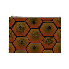 Art Psychedelic Pattern Cosmetic Bag (large)