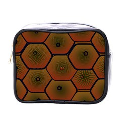 Art Psychedelic Pattern Mini Toiletries Bags