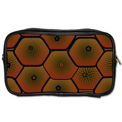 Art Psychedelic Pattern Toiletries Bags 2 Side