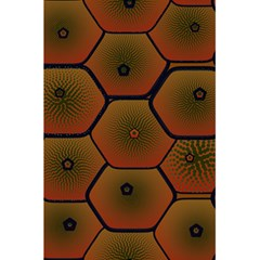 Art Psychedelic Pattern 5 5  X 8 5  Notebooks