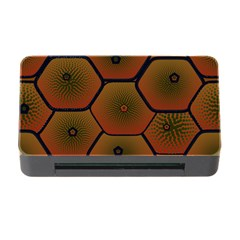 Art Psychedelic Pattern Memory Card Reader With Cf
