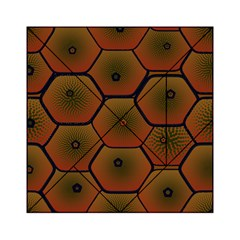 Art Psychedelic Pattern Acrylic Tangram Puzzle (6  X 6 )