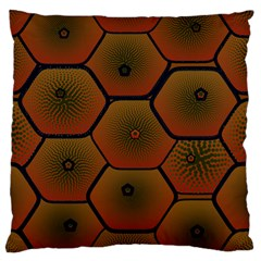 Art Psychedelic Pattern Large Cushion Case (one Side)