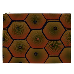 Art Psychedelic Pattern Cosmetic Bag (xxl)