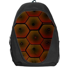 Art Psychedelic Pattern Backpack Bag
