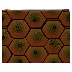 Art Psychedelic Pattern Cosmetic Bag (xxxl)