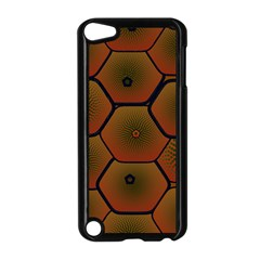 Art Psychedelic Pattern Apple Ipod Touch 5 Case (black)