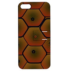 Art Psychedelic Pattern Apple Iphone 5 Hardshell Case With Stand