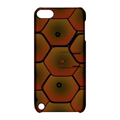 Art Psychedelic Pattern Apple Ipod Touch 5 Hardshell Case With Stand