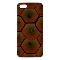 Art Psychedelic Pattern Apple Iphone 5 Premium Hardshell Case