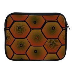 Art Psychedelic Pattern Apple Ipad 2/3/4 Zipper Cases