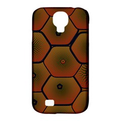 Art Psychedelic Pattern Samsung Galaxy S4 Classic Hardshell Case (pc+silicone)