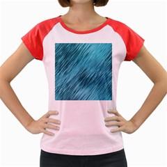 Banner Header Women s Cap Sleeve T Shirt