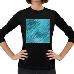 Banner Header Women s Long Sleeve Dark T Shirts