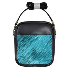 Banner Header Girls Sling Bags