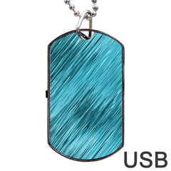 Banner Header Dog Tag Usb Flash (one Side)