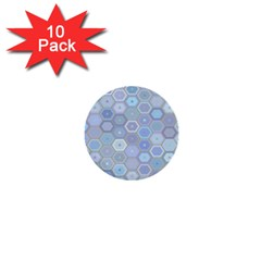 Bee Hive Background 1  Mini Buttons (10 Pack)