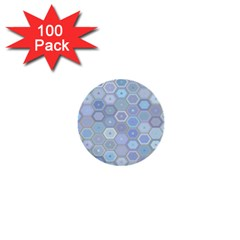 Bee Hive Background 1  Mini Buttons (100 Pack)