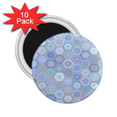 Bee Hive Background 2 25  Magnets (10 Pack)