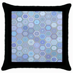 Bee Hive Background Throw Pillow Case (black)