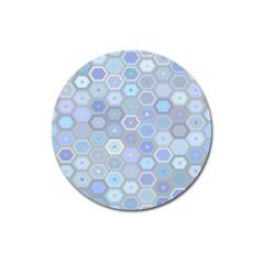 Bee Hive Background Magnet 3  (round)