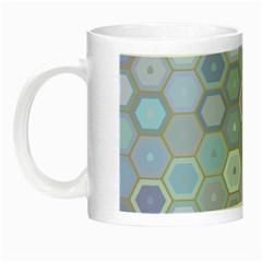 Bee Hive Background Night Luminous Mugs