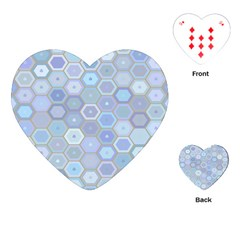 Bee Hive Background Playing Cards (heart)